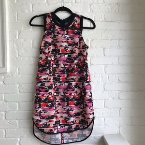 Sam Edelman floral high low dress XS